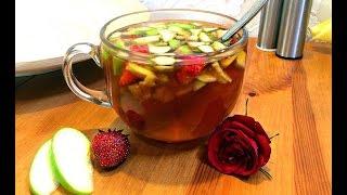 Рецепт фруктового чая! Чай от Катерины Рэй!