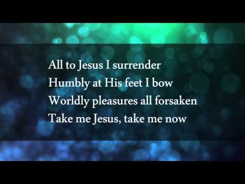 I surrender all jadon lavik lyrics