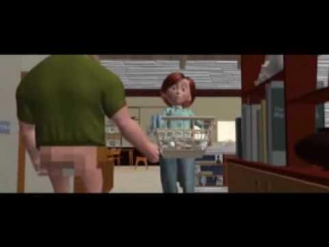 The Incredibles - hilarious NG clips