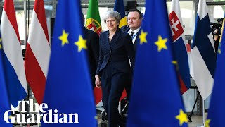EU leaders press conference – watch live
