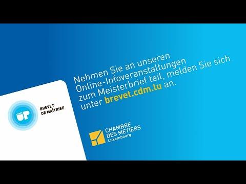 Meisterbrief - Nehmen Sie an unserer Online-Infoveranstaltung teil!