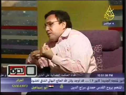 الحوار الفكرى المناظرة بين عمار على حسن ومهندس عبد المنعم الشحات تحت عنوان بين الدين والسياسة
