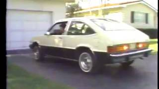 WTVJ / MIAMI - 1979 - Bob Mayer Goes 'Behind The Wheel' Of The 1980 Chevrolet Citation