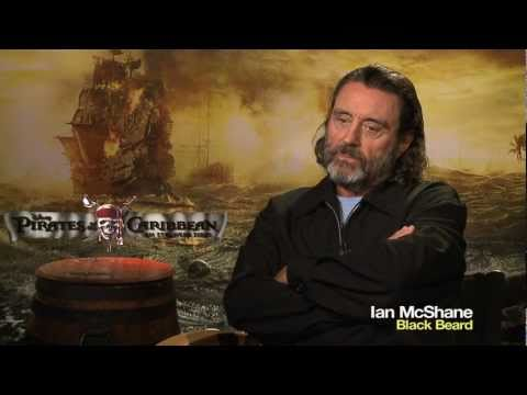 'Pirates of the Caribbean: OST' Ian McShane Interview