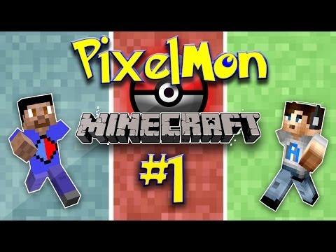 Minecraft PIXELMON #1 with Vikkstar AliA Minecraft Pokemon Mod