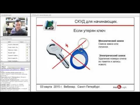 Системы Контроля и Управления Доступом (СКУД) для начинающих