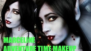 Easy Halloween Makeup: Marceline Vampire Makeup Tutorial