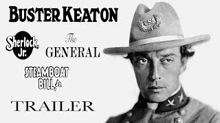 BUSTER KEATON: 3 FILMS [Masters of Cinema] Limited Edition Blu-ray Boxed Set Trailer