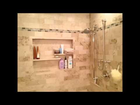 how to build a shower niche   youtube