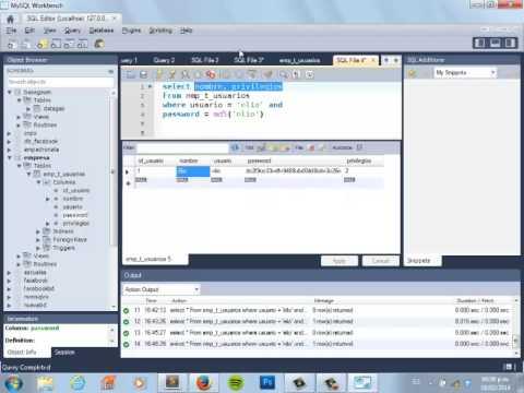 Creando un Login con PHP e implementando seguridad