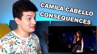 Vocal Coach Reacts to Camila Cabello - Consequences Live (AMAs)
