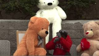 TEDDY BEAR SCARE PRANK