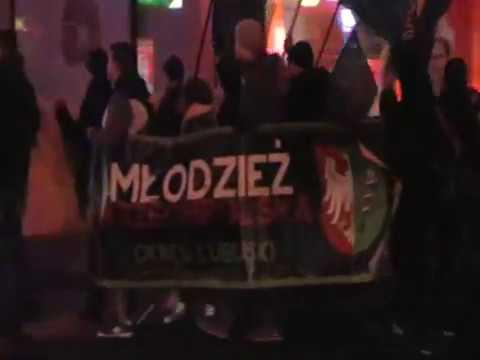 IV Marsz Pamięci Żołnierzy Wyklętych W Zielonej Górze 01.03.2017 R.