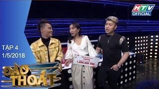 HTV ĐÀO THOÁT   Akira Phan và Võ Tấn Phát buồn vì lỡ tham lam   DT #4 FULL   1/5/2018