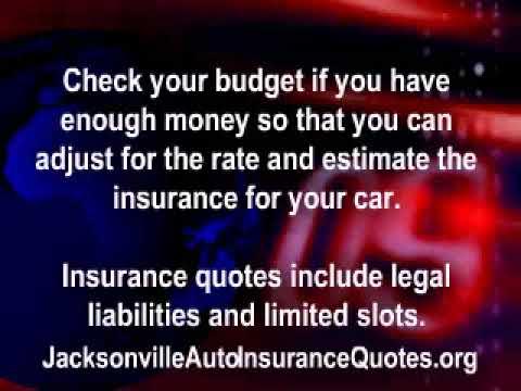 Jacksonville Auto Insurance Quotes