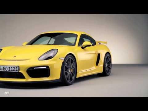 Porsche Cayman GT4  INSIDE evo