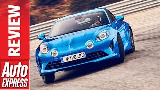 Alpine A110 review - new lightweight sports car reminds us what fun is
