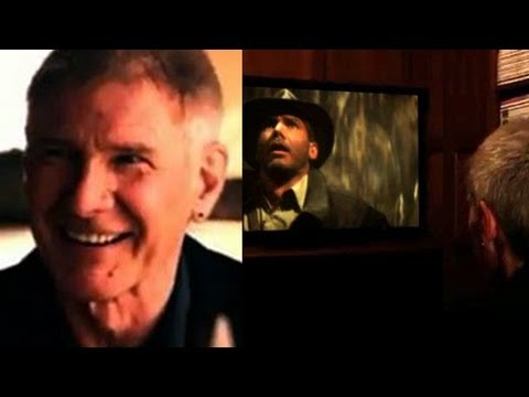 Harrison Ford Watches Indy For The First Time