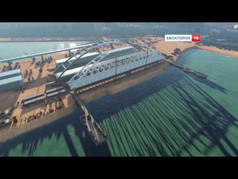 Строительство Крымского моста идет полным ходом