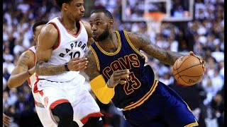 DeMar DeRozan Playoff Career High LeBron Counters With 35 Of His Own! | May 5, 2017