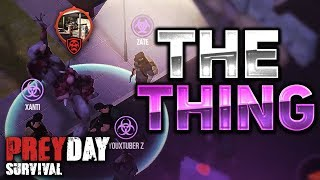 HOW TO KILL THE THING! GAS STATION! CLAN BOSS! - Prey Day: Survival