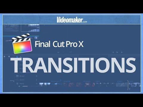 Final Cut Pro X Essentials - Transitions