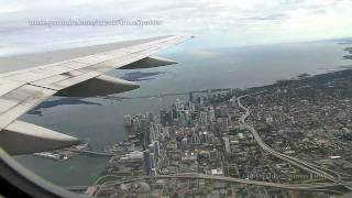 Boeing 757 Take-off from Miami. Passenger view.