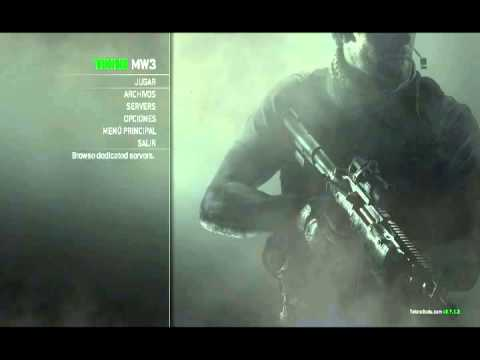 Tutorial como jugar Call of Duty Modern Warfare 3 Multiplayer Teknogods