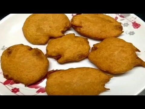ఆలూ బజ్జి / Tasty snack -Aloo bajji recipe / potato bajji in Telugu by Bhagyamma foods