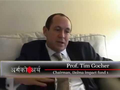 TV Interview with Prof. Tim Gocher, Founder, Dolma Impact Fund-Nepal Television