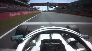 2019 Spanish Grand Prix: Valtteri Bottas' Pole Lap | Pirelli