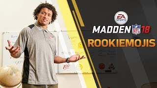 Rookie Emojis | Madden NFL 18 Rookie Ratings