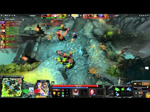 EXGamesPro vs Throwing Pains UGC NA Iron Game 2 - Casted by Mikelorus