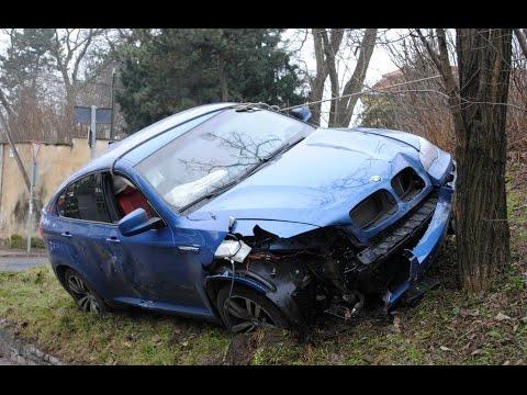 BMW X6 Crashes | Аварии БМВ Х6 (Бумер)
