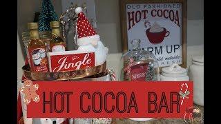 DIY CHRISTMAS HOT CHOCOLATE BAR 2018