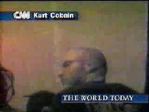 Kurt Cobain is found (CNN report April 8, 1994)
