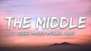 Download Lagu Zedd, Maren Morris, Grey ‒ The Middle (Lyrics / Lyric Video) Gratis STAFABAND