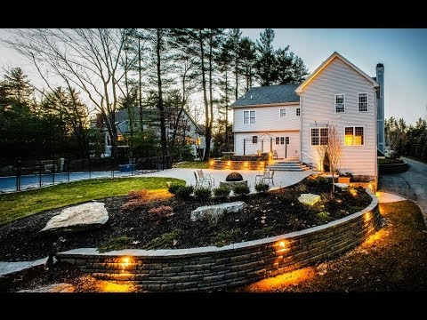 Backyard Raised Patio Makeover: Landscaping Time Lapse