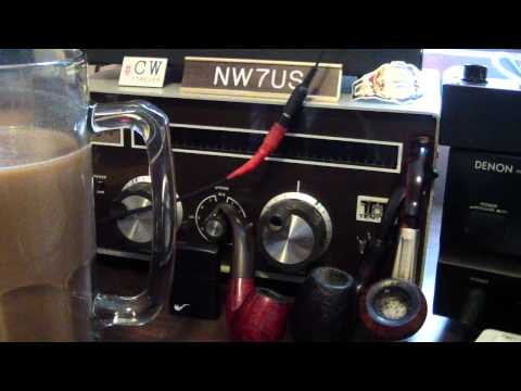 NW7US Ham Radio Nebraska Station - April 3, 2012