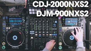 Alex Moreno testing the new Pioneer CDJ-2000NXS2 & DJM-900NXS2