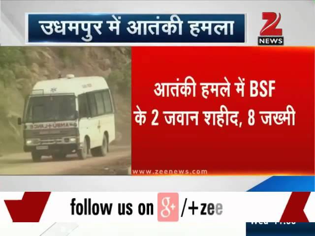 Militants attack BSF convoy in J&K, 2 jawans killed
