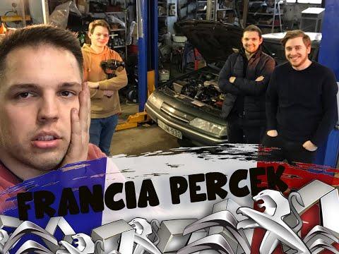 FRANCIA PERCEK S01E01.  205 és az IKSZEM (ZambellyMotors Feat Draskovicsék )