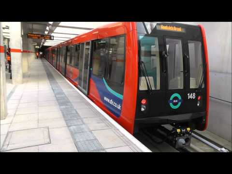 The Docklands Light Railway At Stratford International.wmv