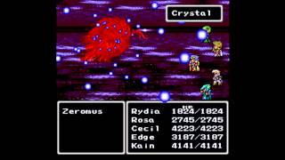 Final Fantasy II (SNES) - Boss # 30 Zeromus