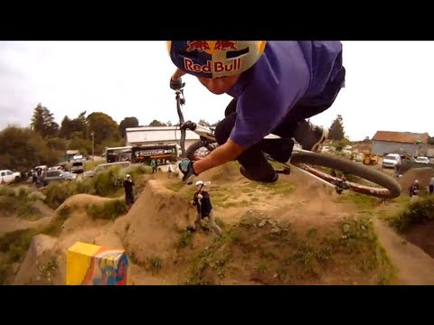Learn about the new GoPro HD HERO® camera at http://gopro.com. Each year after Sea Otter, the world's best freestyle riders gather at a jump park outside the US Post Office in Aptos, California...