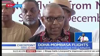 Qatar Airways begins flights to Mombasa : KTN News