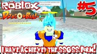 I Have Achieved the SSGSS Form! | Roblox: Dragon Ball Online - Episode 5