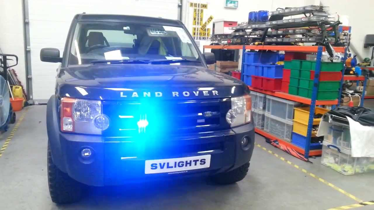 Land Rover Discovery Light Bar Land Rover Discovery 3 Fitted