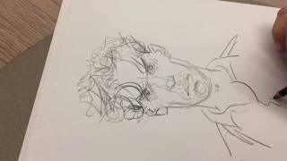 """Comment dessiner """"Mattéo"""", la leçon de dessin de Jean-Pierre Gibrat"""