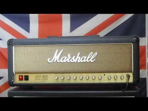 Marshall JCM800 2205 Head 1985 demo